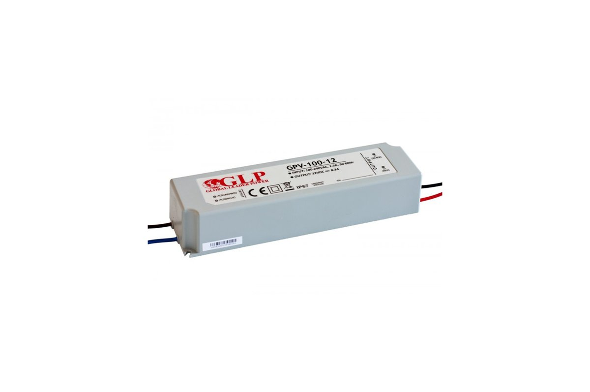 100W Power supply 12V 24V Warranty 5 years EU