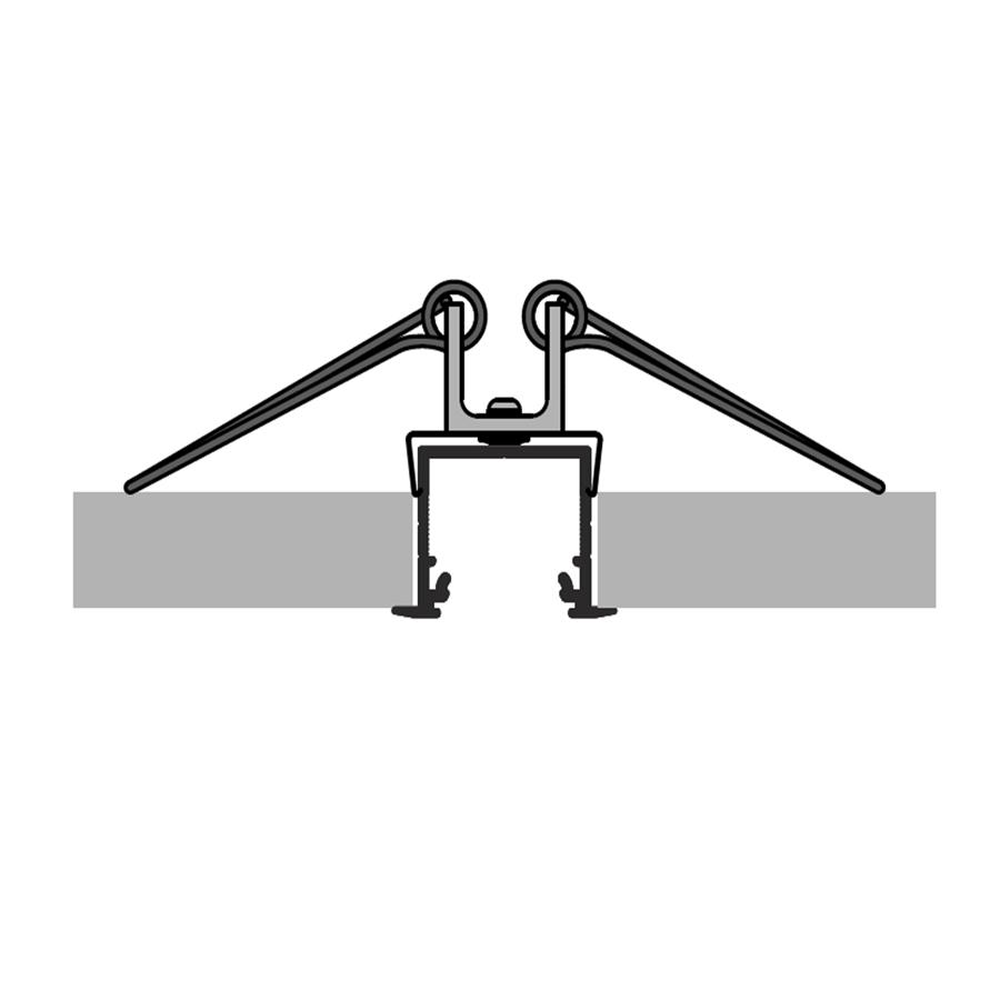 Mounting Spring for LED Strip Aluminium profile LINEA20-IB