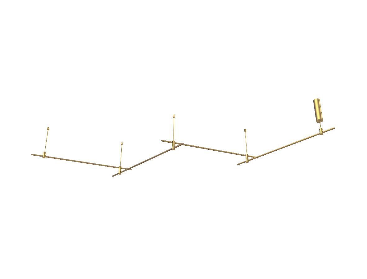 Piekarama Magnētiska Modulāra sistēma AIP-ZIGZAG4