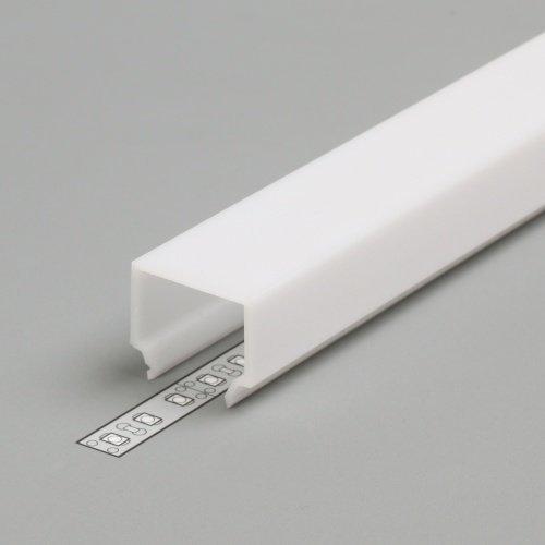 PC OPAL E7 Cover for LED Strip Aluminium profile