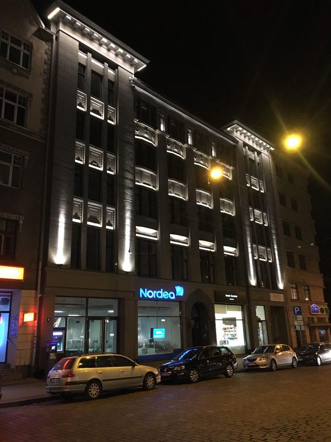 6W Lineārs Fasādes LED gaismeklis