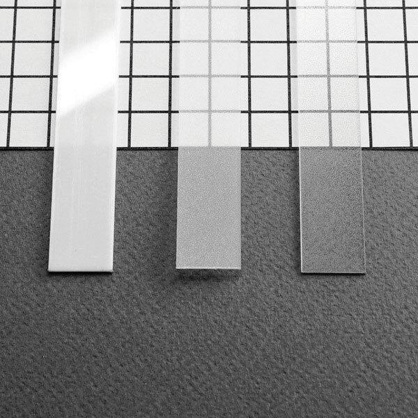 PC OPAL Stikls LED lentu profilam