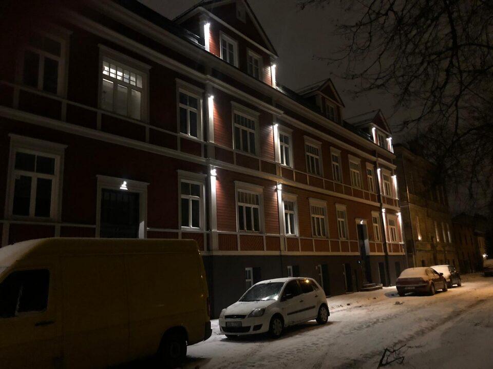 5W(GU10) Fasādes LED gaismeklis