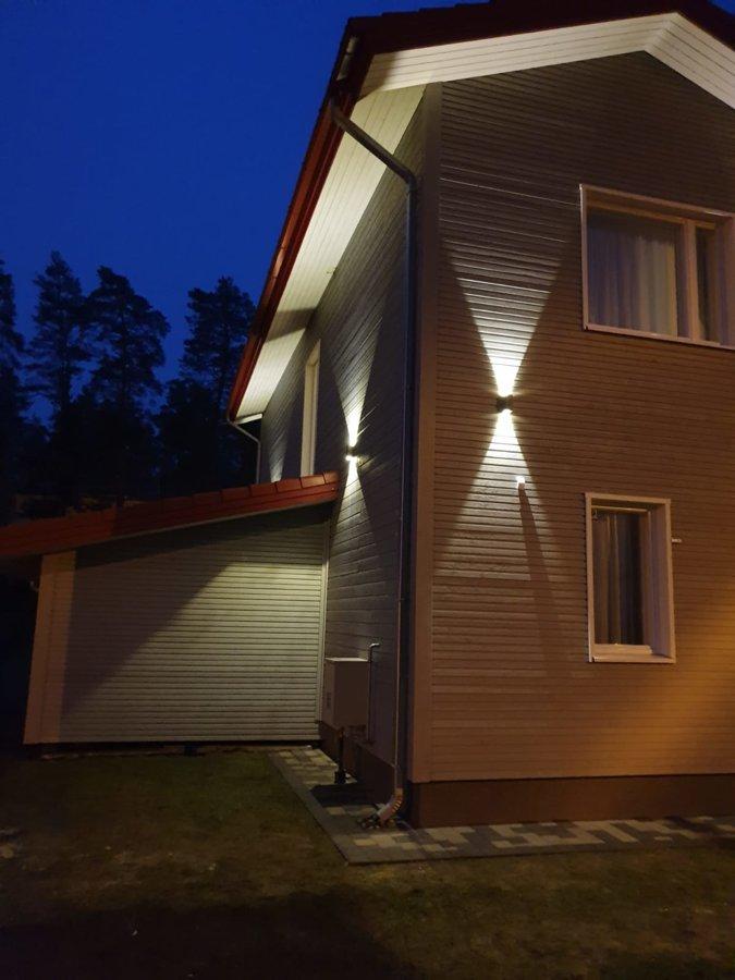 6W Fasādes LED gaismeklis