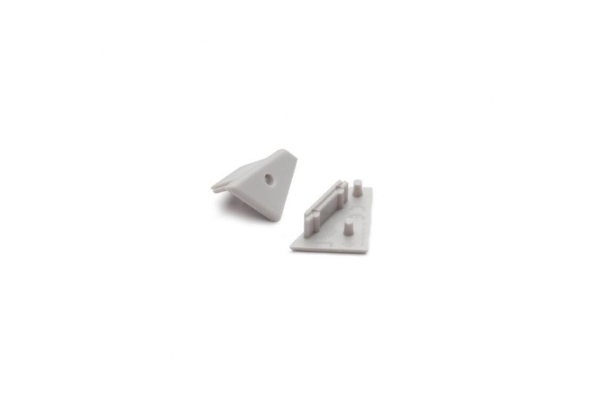 CORNER profile LED strip end cap set