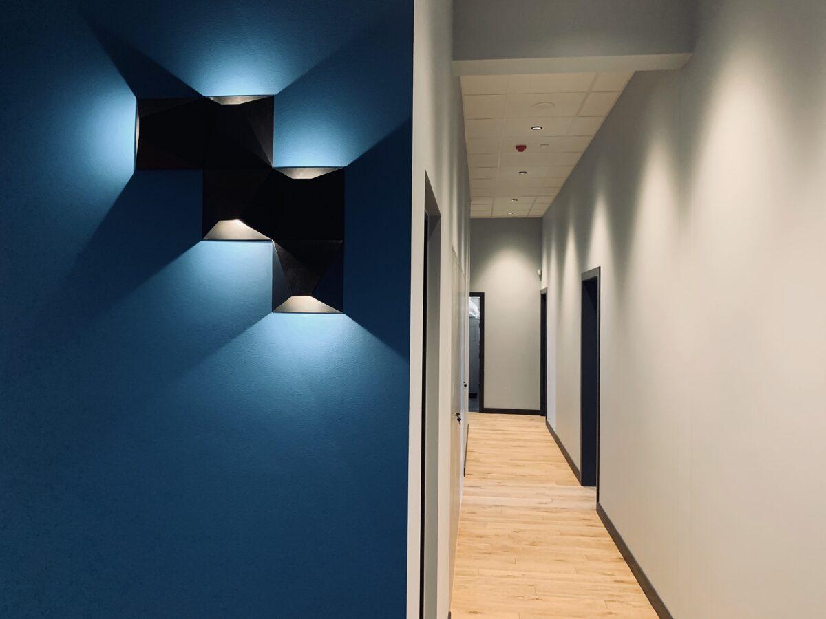 3W Dekoratīvs sienas LED gaismeklis