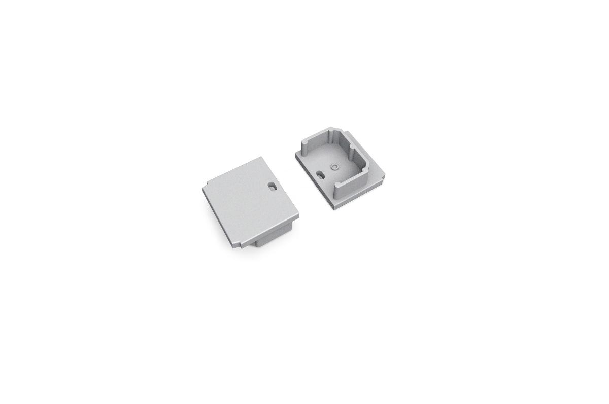 Aluminium Profile LINEA20-IN-T End cap set