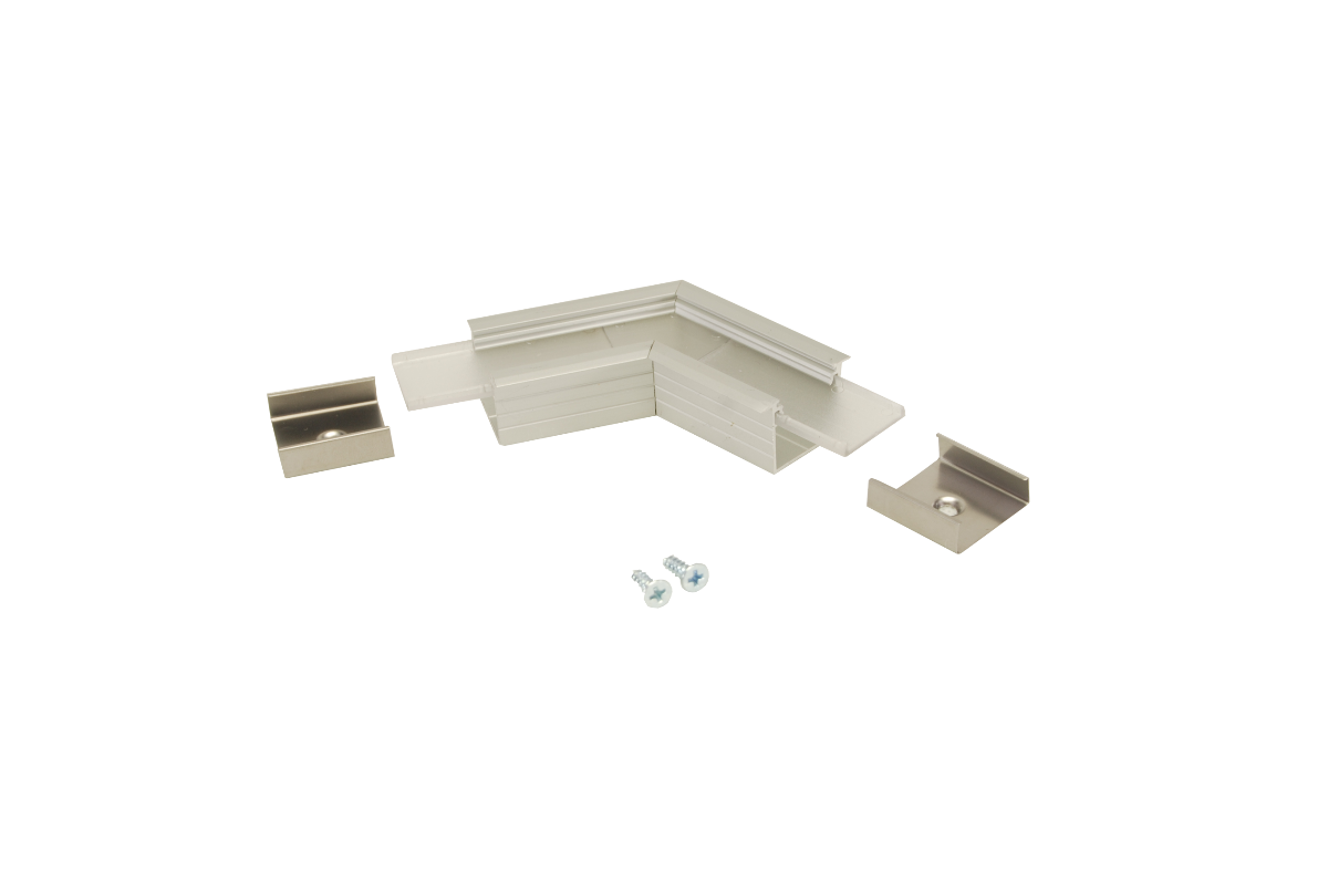 120° Horizontal corner connector for Aluminium profile LINEA20-IN