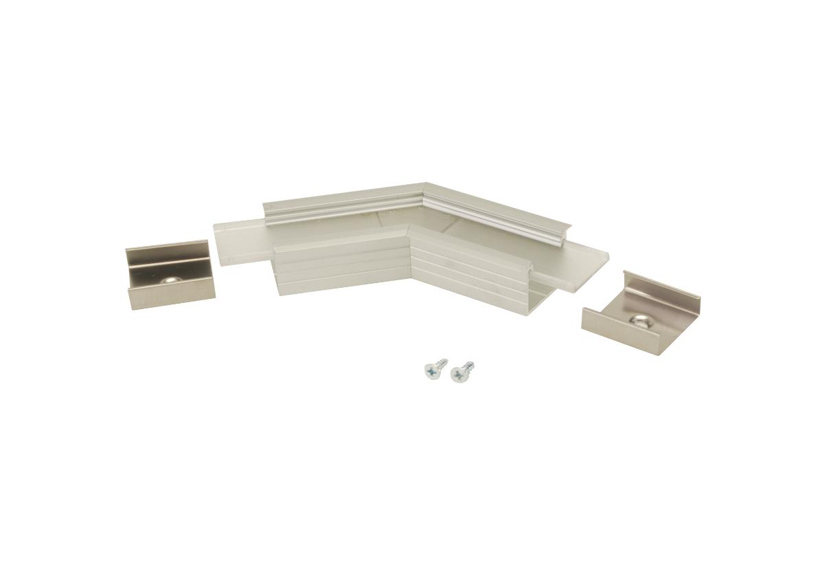 135° Horizontal corner connector for Aluminium profile LINEA20