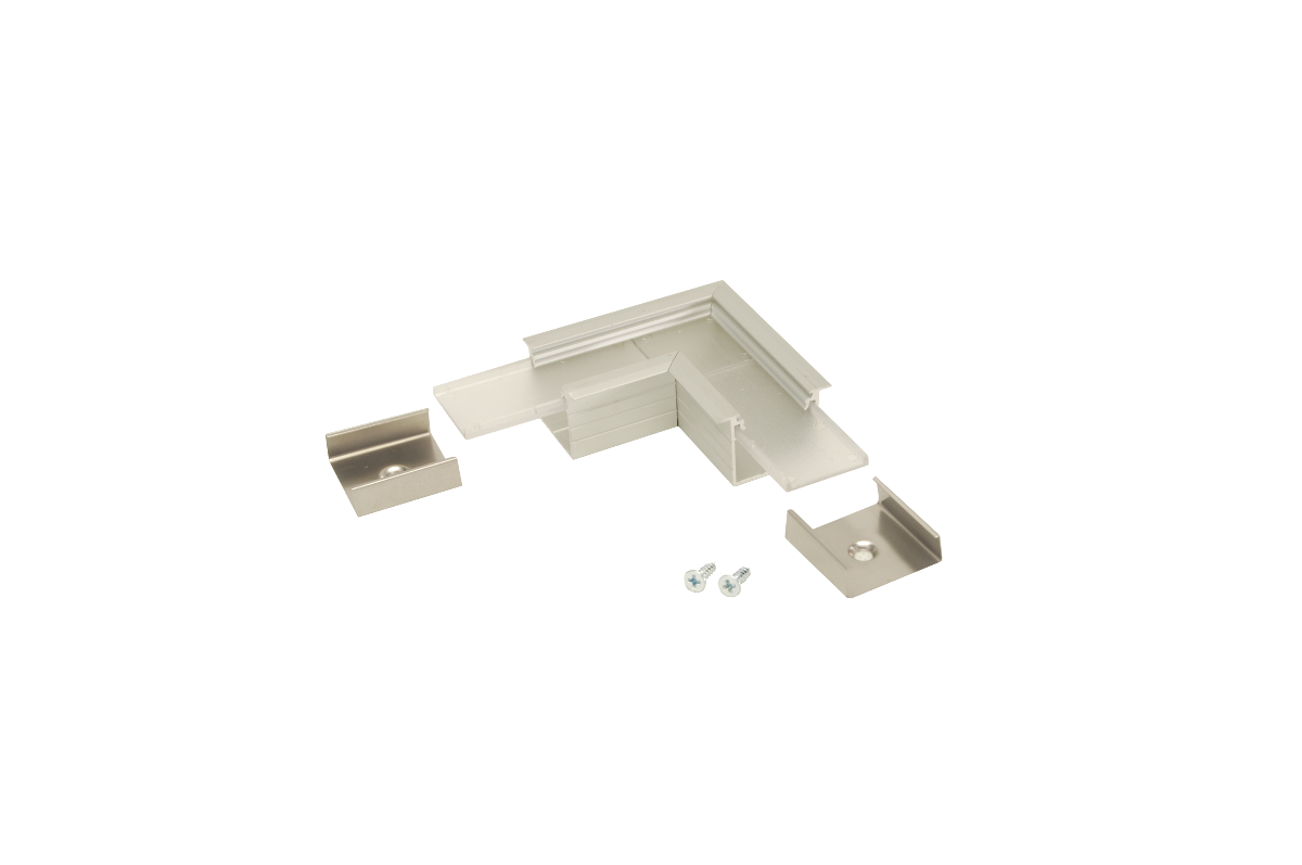 90° Horizontal corner connector for Aluminium profile LINEA20-IN