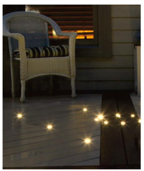0.4W LED gaismekļu komplekts