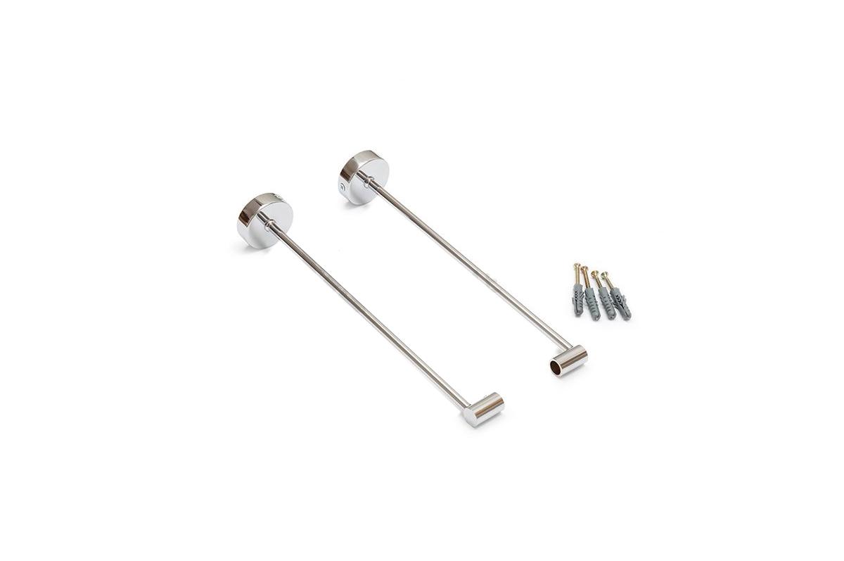 Alumīnija profila Virsbūvēšanas stiprināšanas kājas