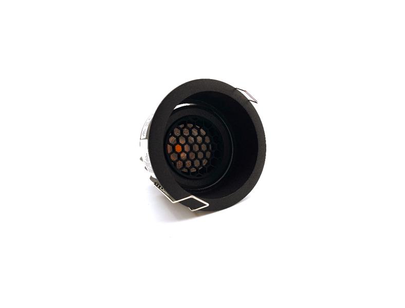 Regulējams Iebūvējams IP65 LED Gaismeklis ar Pretapžilbināšanas filtru AIP-IF10H