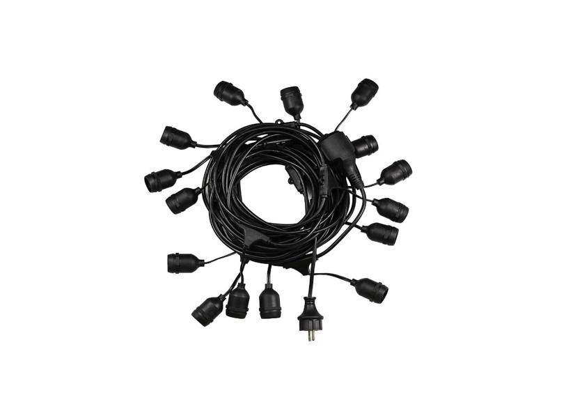 15m E27 Virtene LED Spuldzēm