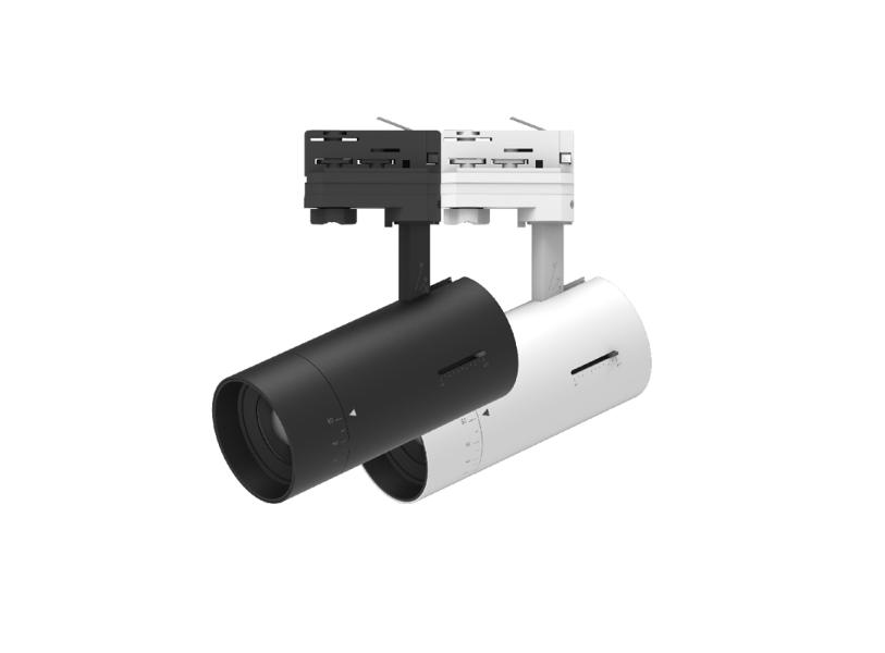 25W Dimmējams, Regulējams Sliežu sistēmas LED Prožektors CCT