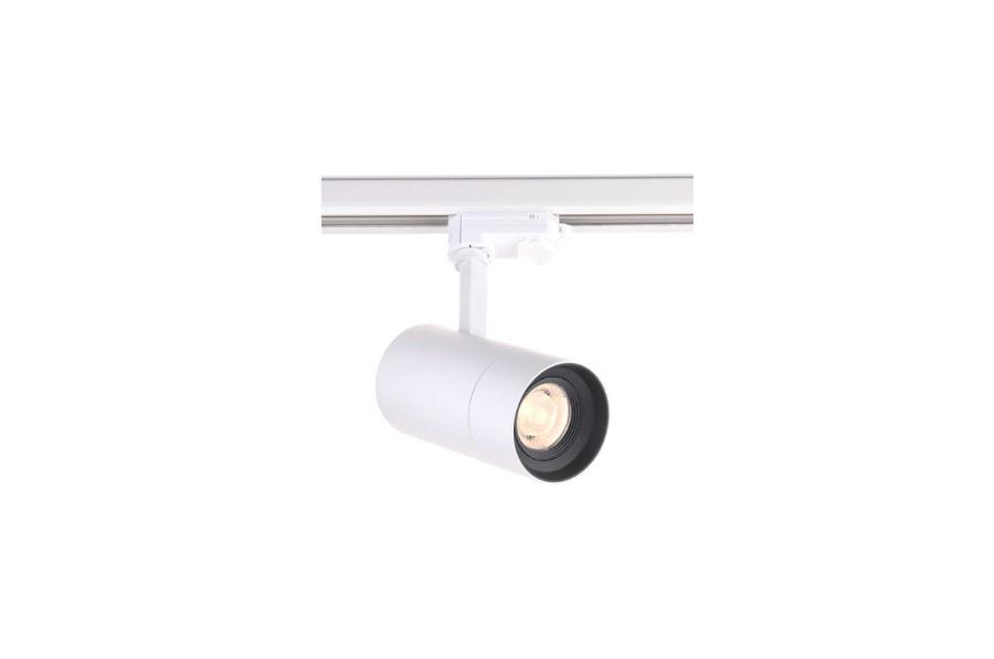 25W Regulējama leņķa Sliežu sistēmas LED Prožektors ar pretapžilbināšanas filtru AIP-25HC