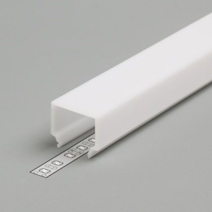 PC OPAL E7 Cover for LED Strip Aluminium profile
