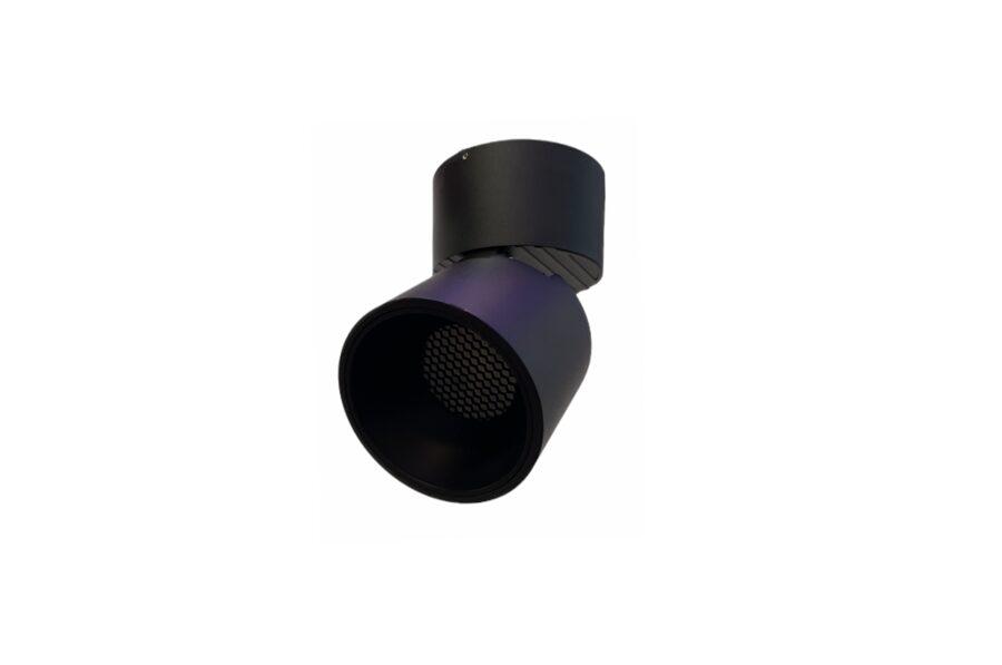 7W Regulējams, grozāms virsgriestu LED Gaismeklis ar pretapžilbināšanas filtru AIP-7RCH