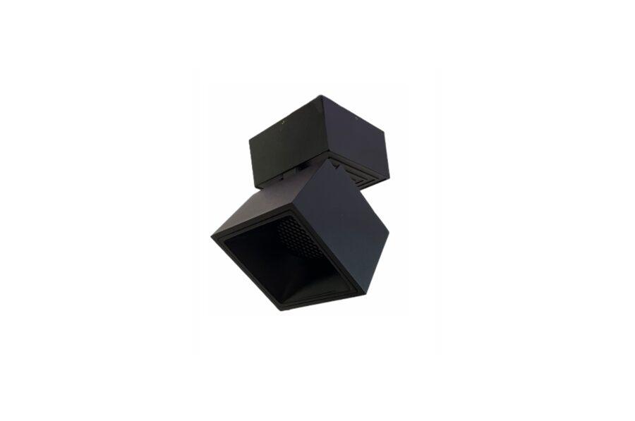 7W Regulējams, grozāms virsgriestu LED Gaismeklis ar pretapžilbināšanas filtru AIP-7KCH