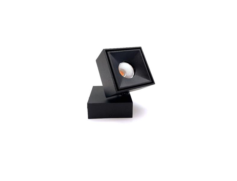Regulējams, Grozāms, Rotējams Virsgriestu LED gaismeklis AIP-VO7