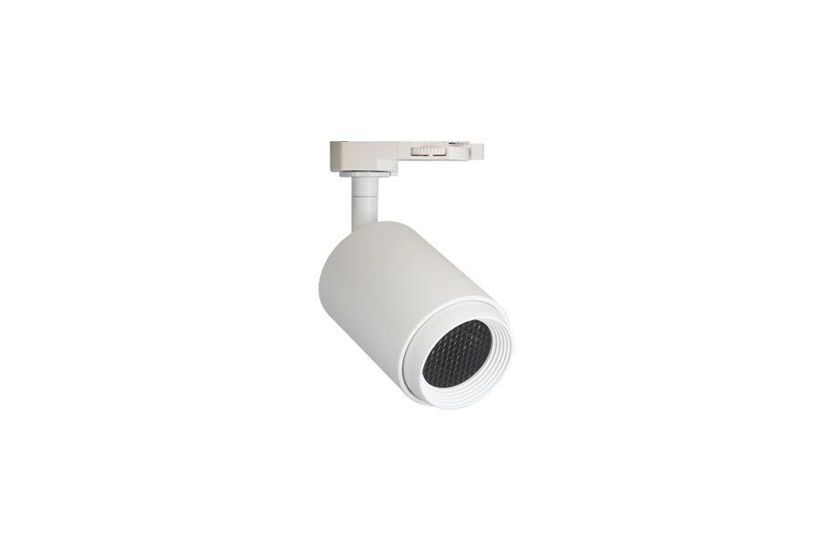 8W Sliežu sistēmas LED gaismeklis ar pretabžilbināšanas filtru AIP-8HC