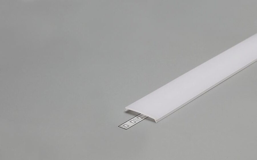 PC OPAL Click cover for Aluminium Profile
