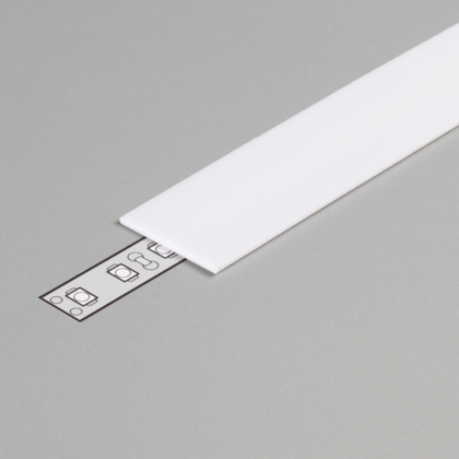 PC OPAL Cover for LED Strip Aluminium profile LINEA20