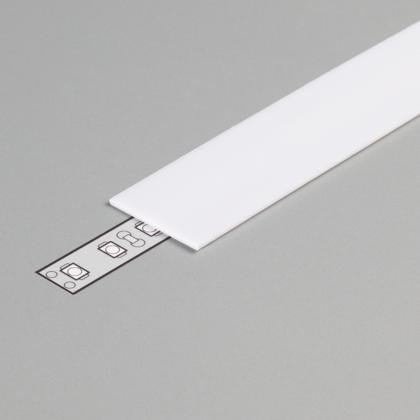 PC OPAL Cover for LED Strip Aluminium profile LINEA20