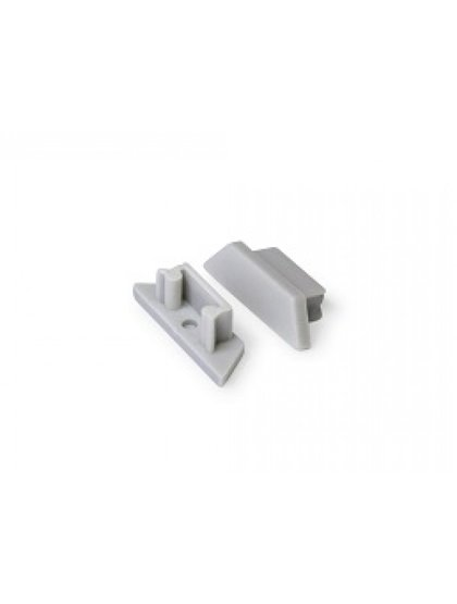 Aluminium Profile ARC12 End cap set for Click cover