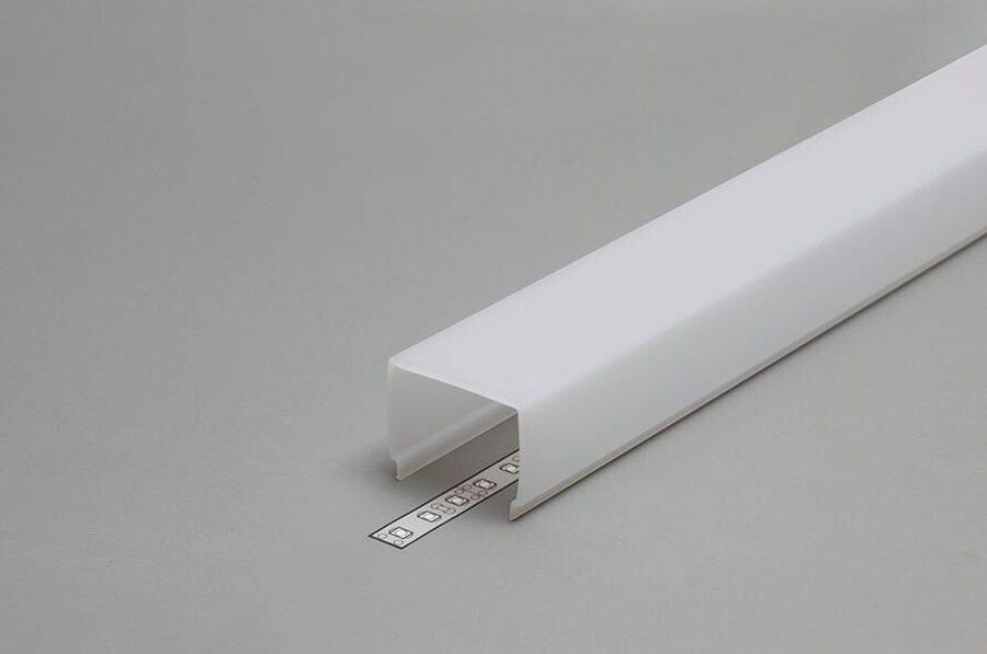 PC OPAL Stikls LED lentu profilam VARIO E7