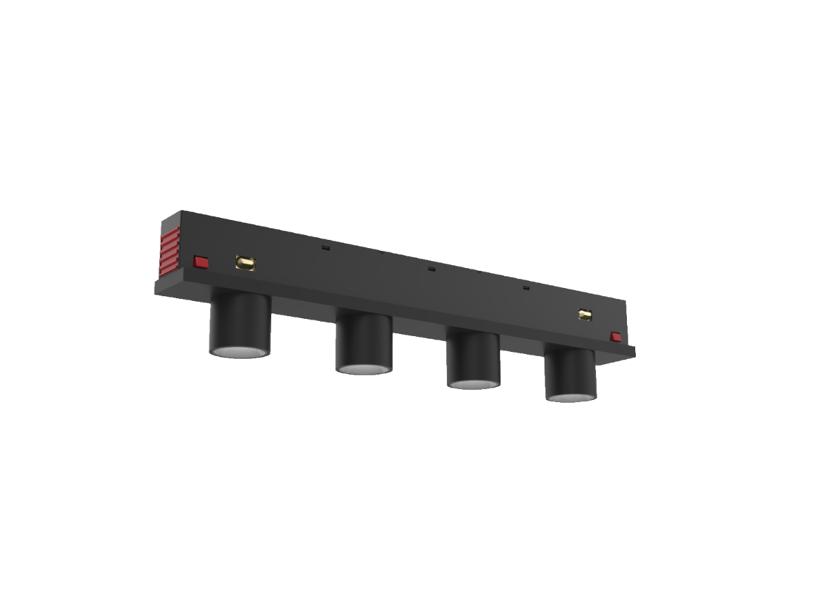 Magnētiskās sistēmas CLASSIC LED Prožektors AIP-IC12