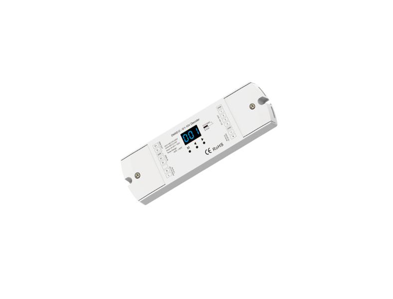 4 kanālu DMX512 0/1-10V Dekoderis BL01