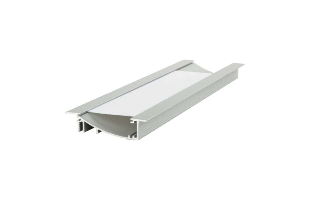 Aluminum profile for LED strips FLAT
