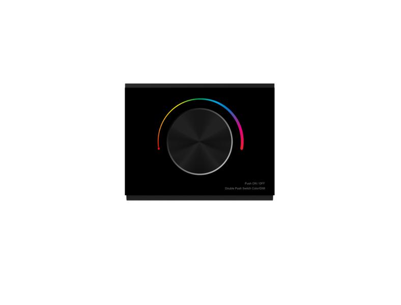 1 Zonas Dimmējama RGB LED Lentu kontrolieris RW02