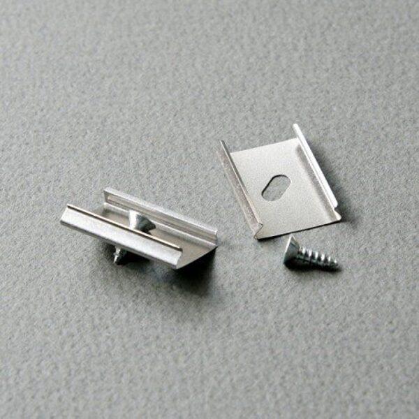 LED lentu Profila stiprinājuma detaļu komplekts