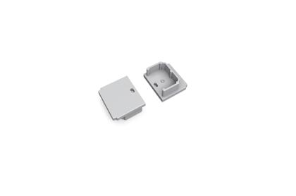 Aluminium Profile LINEA20 End cap set