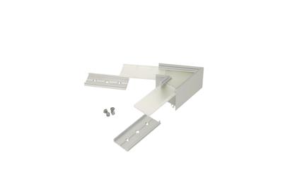 60° Horizontal corner connector for Aluminium profile LINEA20