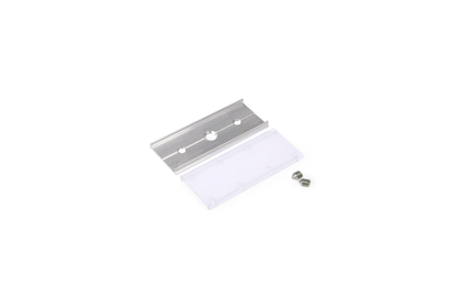 Connection part with screws for Aluminium profile