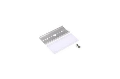 LED lentu profila cietā savienojošā detaļa ar skrūvēm