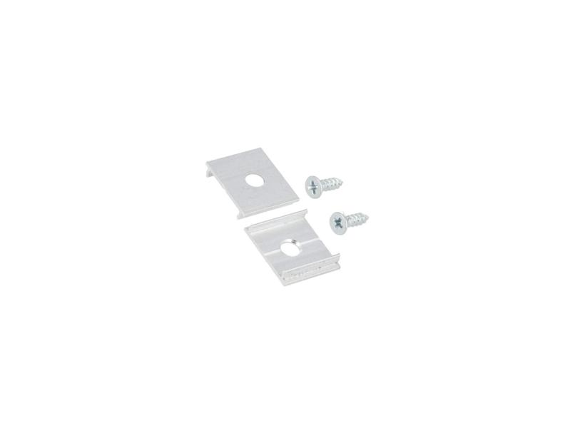 Alumīnija profila stiprinājuma detaļu komplekts
