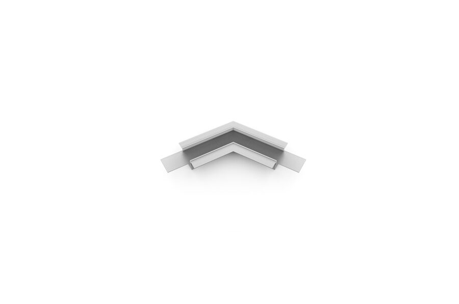 VARIO-5 Alumīnija profila LED Lentām leņķa detaļa 120°