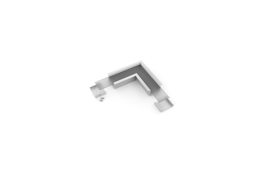 VARIO-7 Alumīnija profila LED Lentām leņķa detaļa 90°