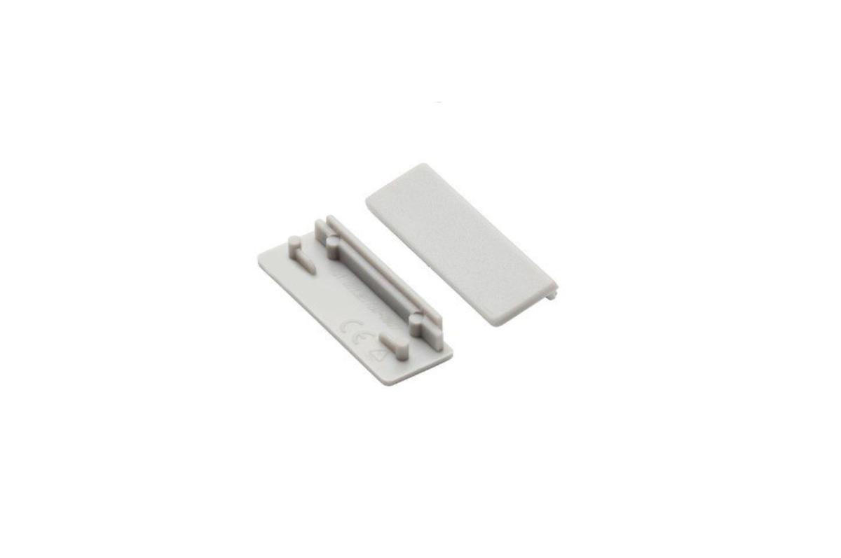 LED strip profile end cap set