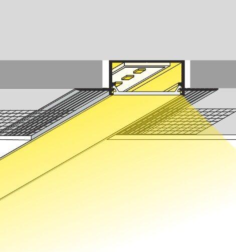 Alumīnija LED lentu profils VARIO-4