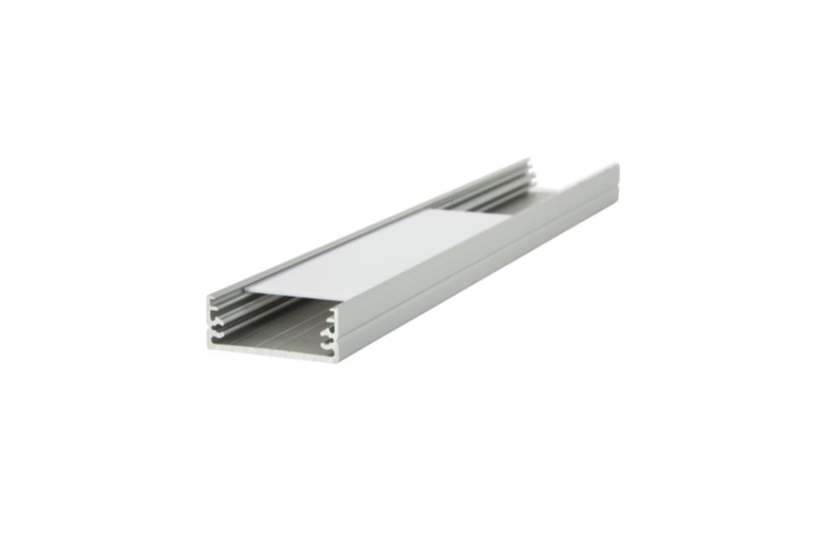Alumīnija LED lentu profils WIDE