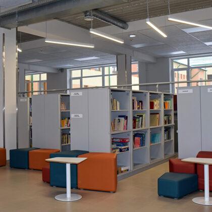 Cēsu 2. pamatsk. atvērtās bibliotēkas projekts
