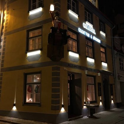 Colonel Bar, Old Riga